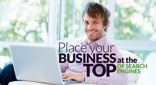 Place Your Business at the top of Search Engines